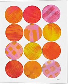 Kitchen Garden Dots I By Melissa Averinos Canvas Art