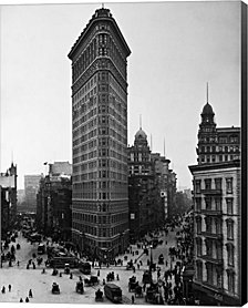 Flatiron Building By H. A. Dunne Canvas Art
