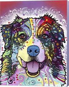 Australian Shepherd By Dean Russo Canvas Art