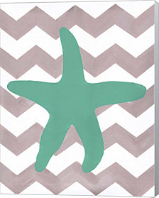 Starfish By Artpoptart Canvas Art