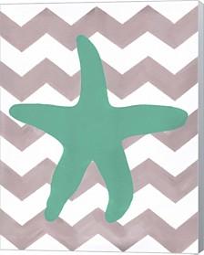 Starfish By Artpoptart Canvas Art