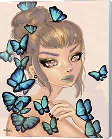 Morpho Bliss By Natasha Wescoat Canvas Art