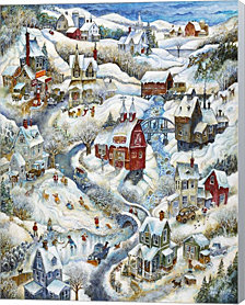 Country Winter (2) by Bill Bell Canvas Art