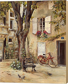 Provence Village I by Marilyn Hageman Canvas Art