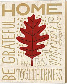 Family Tree Leaf II by Michael Mullan Canvas Art
