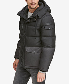Marc New York Men's Stanton Mid-Length Hooded Puffer Jacket