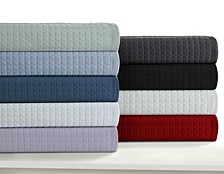 Como Microfiber Solid Oversized Quilt Set Collection