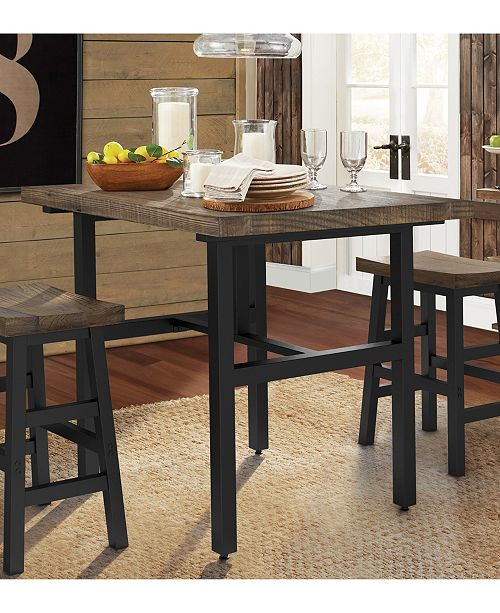 Phenomenal Pomona 36H Reclaimed Wood Counter Height Dining Table Beatyapartments Chair Design Images Beatyapartmentscom