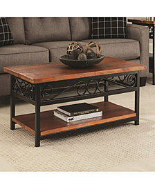 Artesian Scrollwork Coffee Table