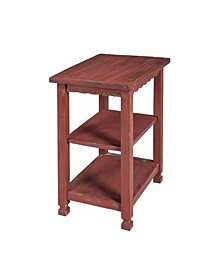 Country Cottage 2 Shelf End Table