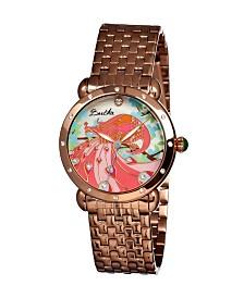 Bertha Quartz Didi Collection Rose Gold Stainless Steel Watch 38Mm