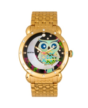Quartz Ashley Collection Gold Stainless Steel Watch 38Mm