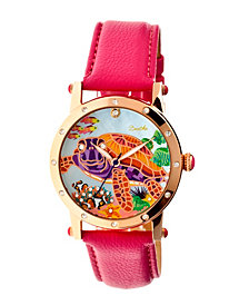 Bertha Quartz Chelsea Collection Rose Gold And Pink Leather Watch 38Mm