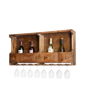 Image of Alaterre Furniture Revive - Reclaimed Wood Wine Rack