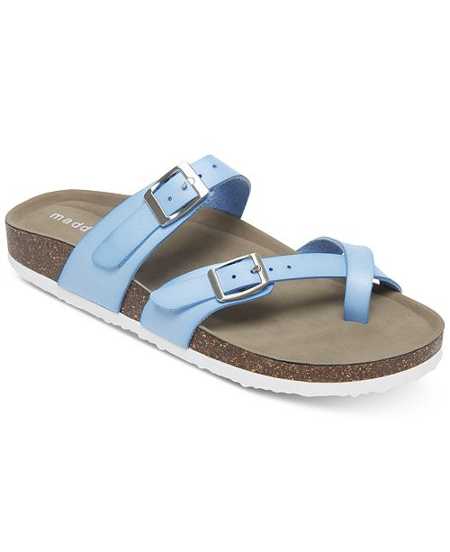 4acb91f79b1 Madden Girl Bryceee Footbed Sandals  Madden Girl Bryceee Footbed Sandals ...