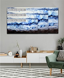 'Ice Wall' Abstract Canvas Wall Art Collection