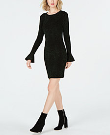 MICHAEL Michael Kors Bell-Sleeve Sheath Dress