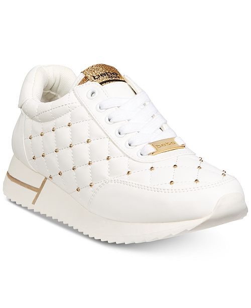 5b81333291b8 bebe Sport Barkley Lace Up Sneakers   Reviews - Athletic Shoes ...