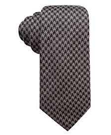 Tasso Elba Men's Houndstooth Tie, Created for Macy's