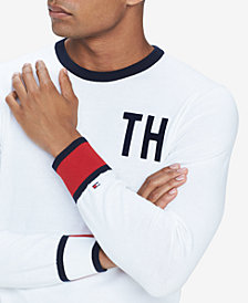 Tommy Hilfiger Men's Camden Logo Cuff Sweater, Created for Macy's