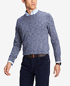Tommy Hilfiger Men's Prep Crew Neck Sweater