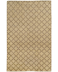 "Tommy Bahama Home  Maddox 56503 Brown/Blue 2'6"" x 10' Runner Area Rug"