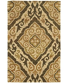 Tommy Bahama Home  Valencia 57705 Beige/Gold Area Rug