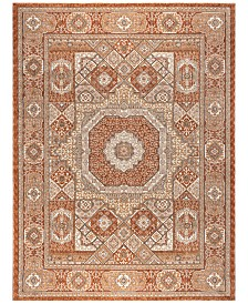 KM Home Harper HA3122 Spice Area Rug