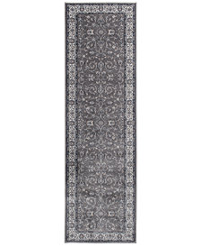"KM Home Largo Isfahan 2'3"" x 7'7"" Runner Area Rug"