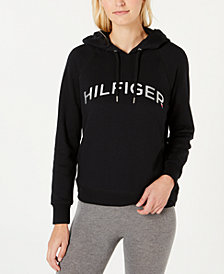 Tommy Hilfiger Sport Foiled Logo Print Hooded Sweatshirt