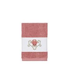 Bella Embroidered Turkish Cotton Washcloth