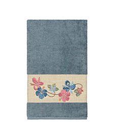Caroline Embroidered Turkish Cotton Bath Towel