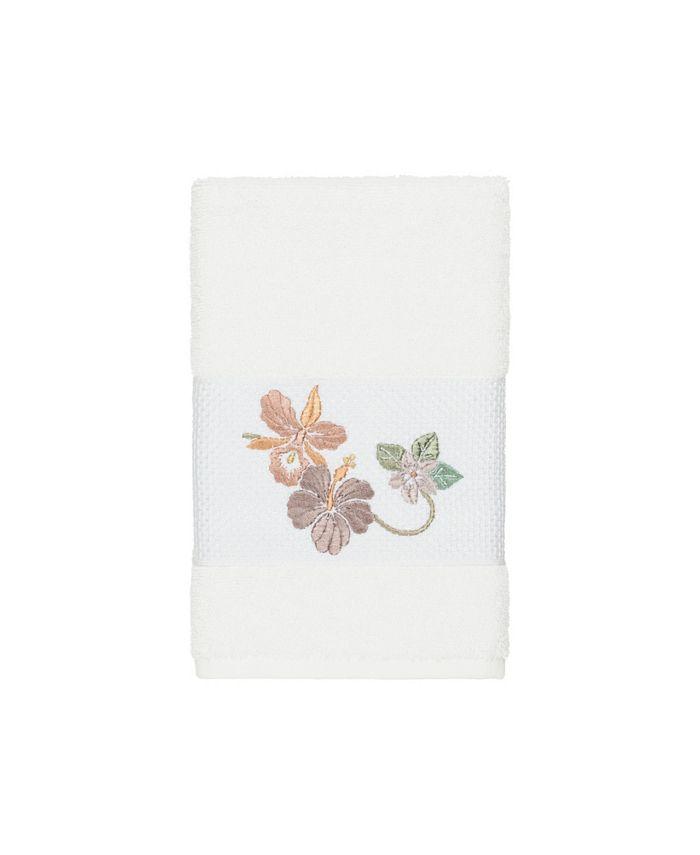 Linum Home - Caroline Embroidered Turkish Cotton Hand Towel