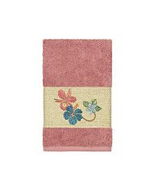 Linum Home Caroline Embroidered Turkish Cotton Hand Towel