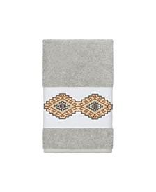 Gianna Embroidered Turkish Cotton Hand Towel