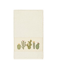 Mila Embroidered Turkish Cotton Bath Towel