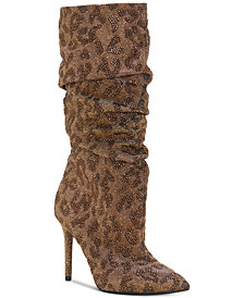 Jessica Simpson Laraine Pointed-Toe Slouch Boots