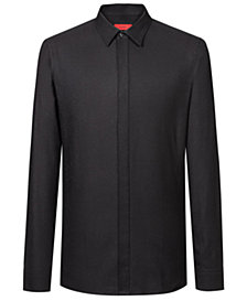 HUGO Men's Slim-Fit Fleck Shirt