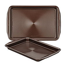 Circulon Symmetry Chocolate Set of 2 Cookie Sheets
