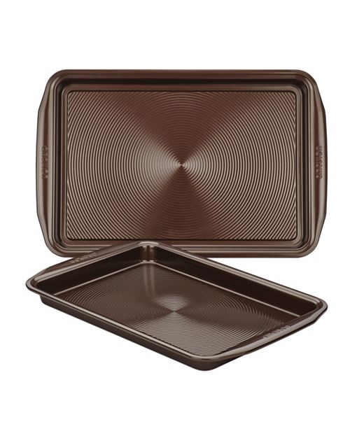 Circulon Symmetry Chocolate Set of 2 Cookie Sheets