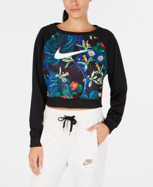 Women'S Sportswear Ultra Femme Crew Sweatshirt, Black