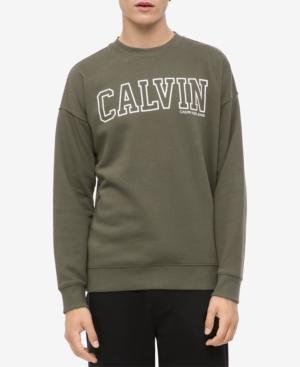 Calvin Klein Jeans Est.1978 MEN'S BLOCKED LOGO SWEATSHIRT