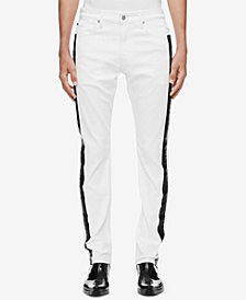 Calvin Klein Jeans Men's Slim-Fit Side Stripe Jeans CKJ 026, Created for Macy's