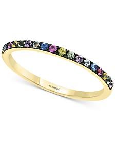 EFFY® Multi-Sapphire Ring (1/4 ct. t.w.) in 14k Gold