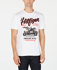 Tommy Hilfiger Men's Hot Rod Races Logo Graphic T-Shirt