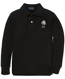 Polo Ralph Lauren Toddler Boys Ski Bear Long-Sleeve Cotton Polo