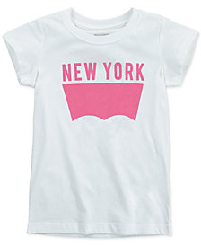 Levi's® Little Girls New York Cotton T-Shirt