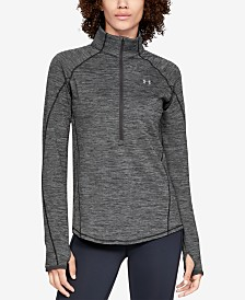 Under Armour ColdGear® Fleece-Lined Half-Zip Top