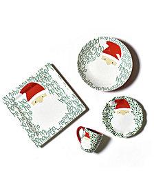 Coton Colors Ho Ho Santa Dinnerware Collection