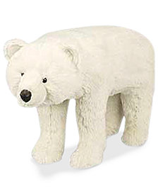 Ditz Designs Polar Bear Footrest